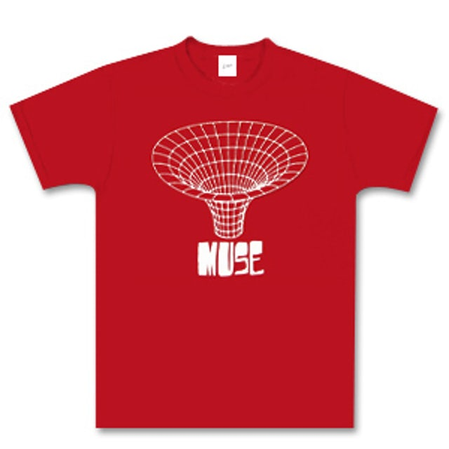 Muse Red Drawn In T-Shirt