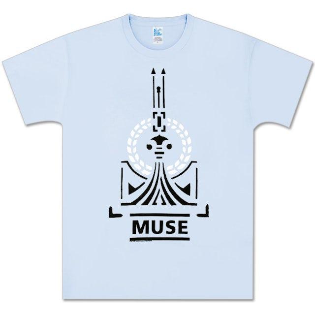 Muse Liftoff Light Blue T-Shirt
