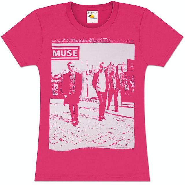 Muse Clouds Girlie T-Shirt