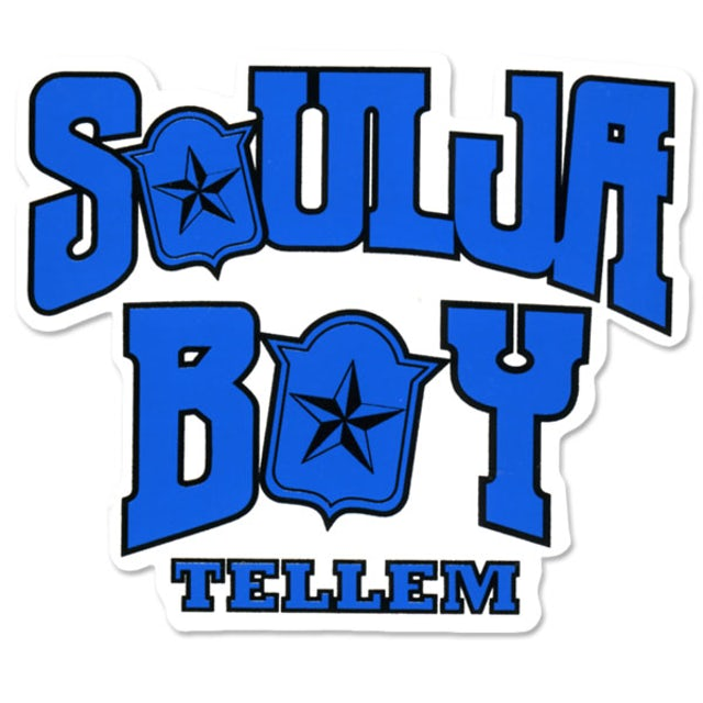 Soulja Boy Tell 'Em 3 Sticker Pack