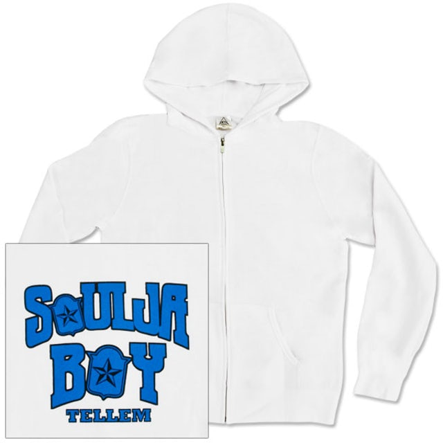 Soulja Boy Tell 'Em Mens Zip-Hoodie