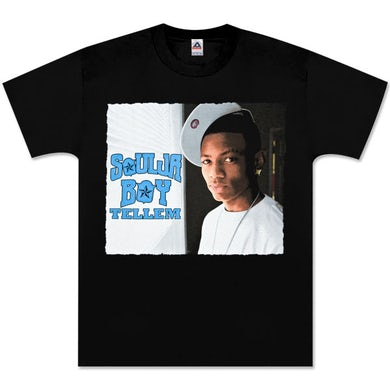 Soulja Boy Tell 'Em Tilt Your Cap T-Shirt