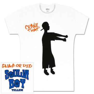 Soulja Boy Tell 'Em Snap or Die White Babydoll Shirt