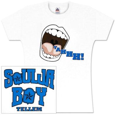 Soulja Boy Tell 'Em Yahhh!!!! Womens Tee