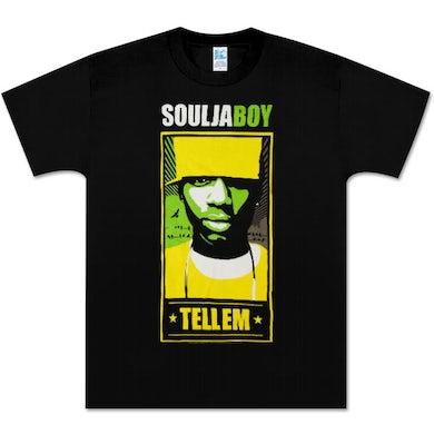 Soulja Boy Tell 'Em Souja Boy Vector Tell 'Em T-Shirt