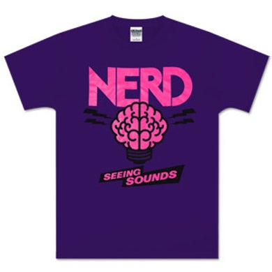 N.E.R.D. Purple Brain T-Shirt