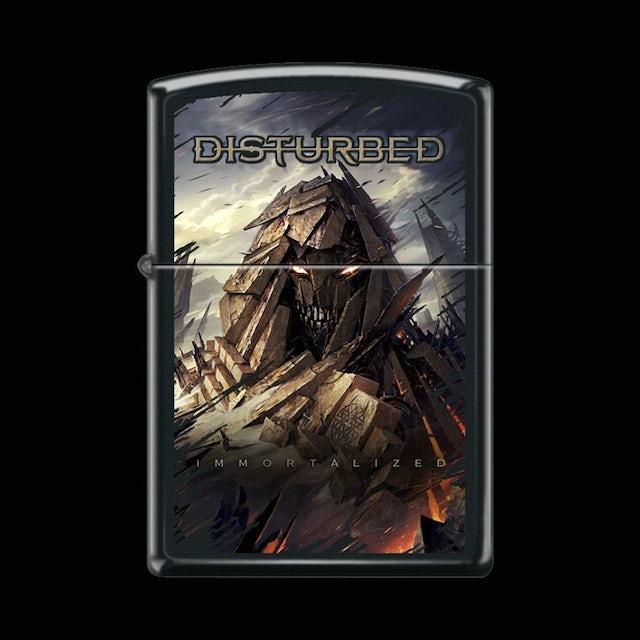 Disturbed Immortalized Refillable Zippo Lighter
