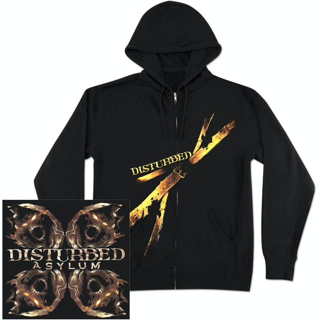 Disturbed Strapped Hoodie