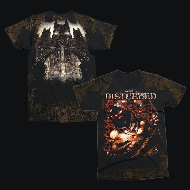 Disturbed Asylum Allover T-Shirt