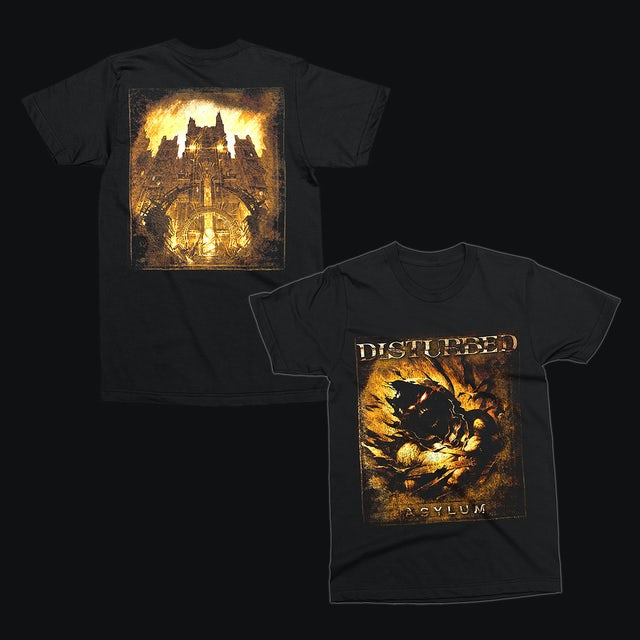 Disturbed Asylum Album Cover T-Shirt