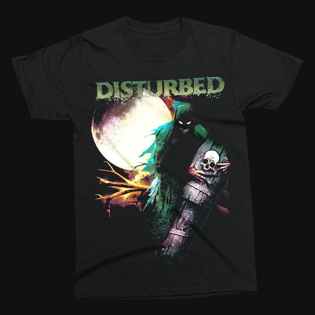 Disturbed Creepin Coffin T-Shirt