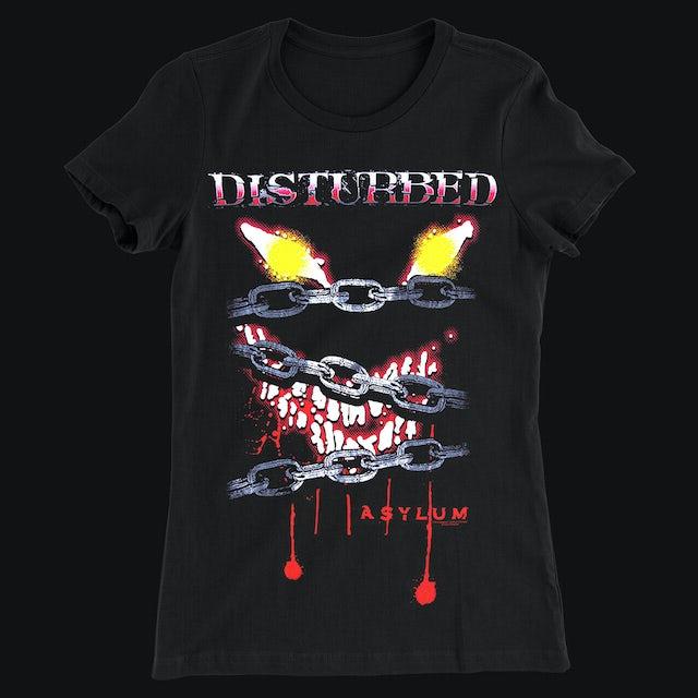 Disturbed Locked Up Girlie T-Shirt