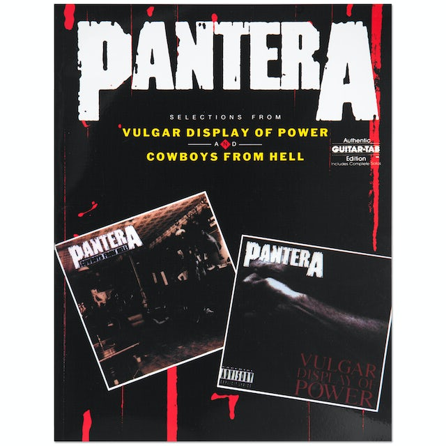 Pantera: Selections from Vulgar Display of Power and Cowboys from Hell Songbook