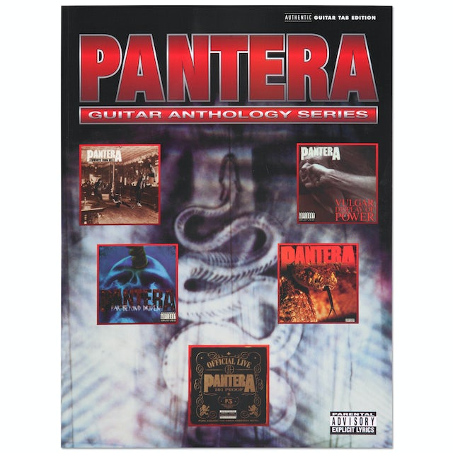 Pantera Guitar Anthology Series Songbook