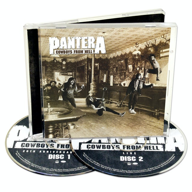 Pantera Cowboys from Hell 20th Anniversary Expanded CD