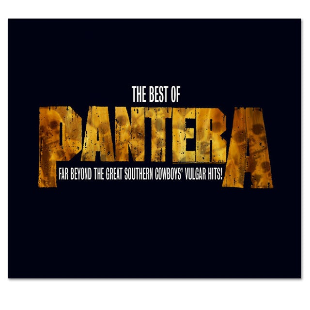 The Best of Pantera: Far Beyond The Great Southern Cowboy's Vulgar Hits CD w/ Bonus DVD