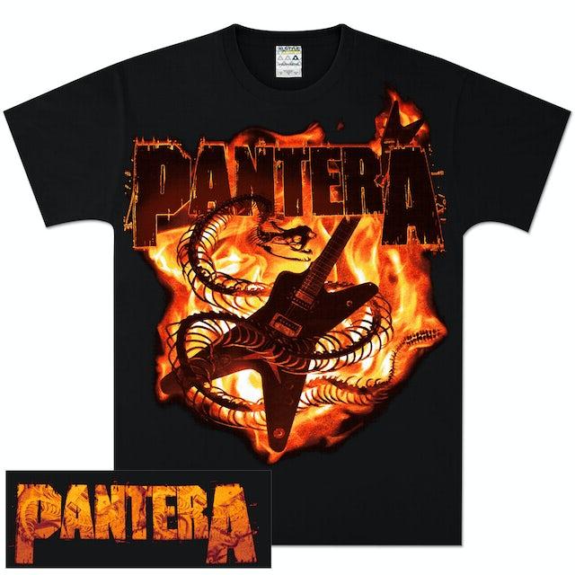 Pantera Guitar Snake T-Shirt