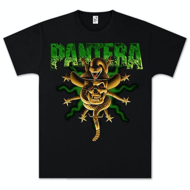 Pantera Snake Skull T-Shirt