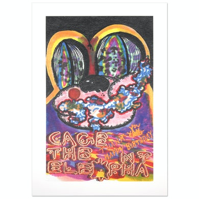 Cage The Elephant LP Cover Litho (Vinyl)
