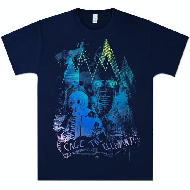 Cage The Elephant Mountain Drips T-Shirt