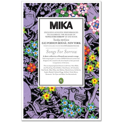 Mika New York Limited Litho Poster
