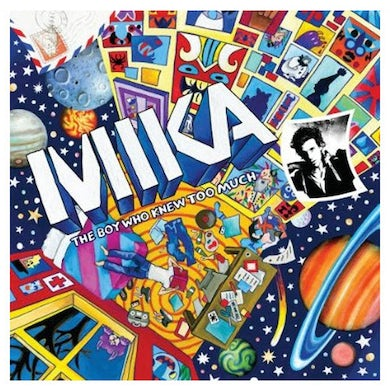 Mika Boy Who Knew Too Much Regular CD