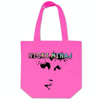 Nicki Minaj Face Tote Bag