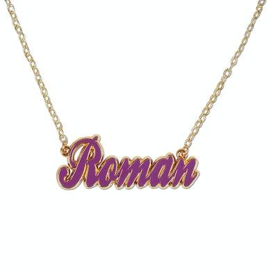 Nicki Minaj Script Logo Necklace