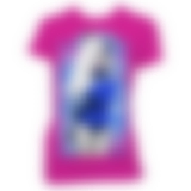 Nicki Minaj Blue Bars Fitted T-Shirt