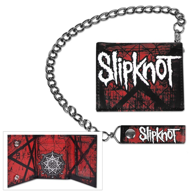 Slipknot Scratched Group Wallet