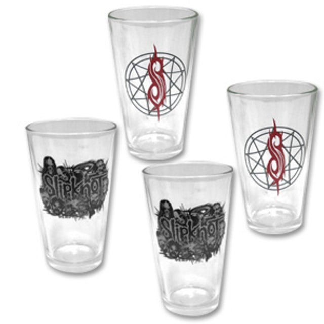 Slipknot 4-Pack Pint Glasses