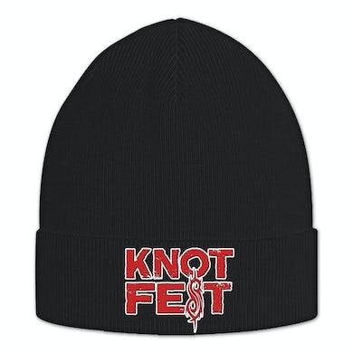 cb1d98e0f7f Slipknot Knotfest Stacked Logo Beanie