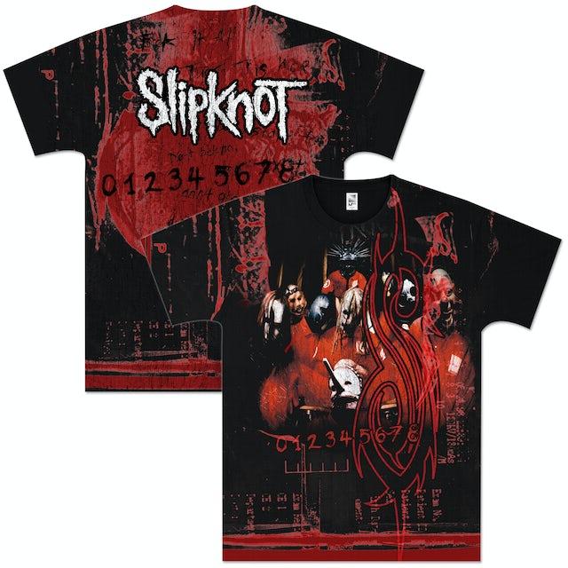 Slipknot Debut Band Allover T-Shirt