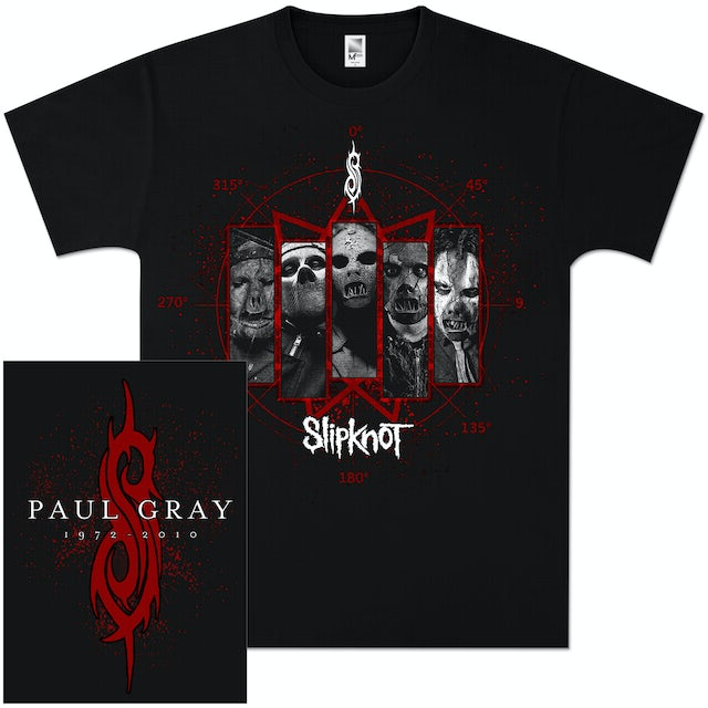 Slipknot Paul Gray Masks T-Shirt