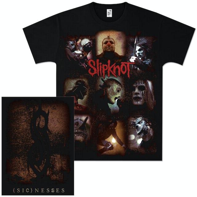 Slipknot (Sic)nesses Collage T-Shirt