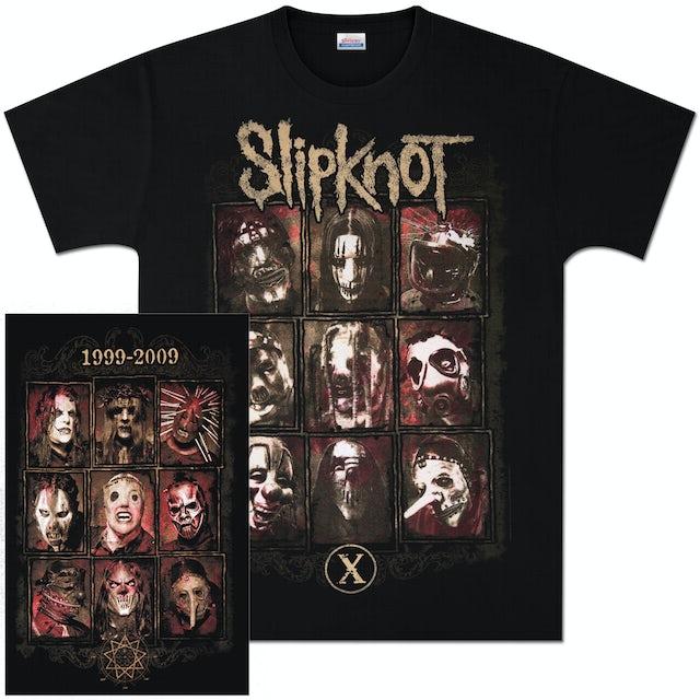 Slipknot Old and New Masks T-Shirt