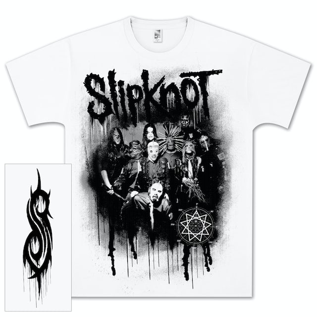 Slipknot Spraypaint Splatter T-Shirt