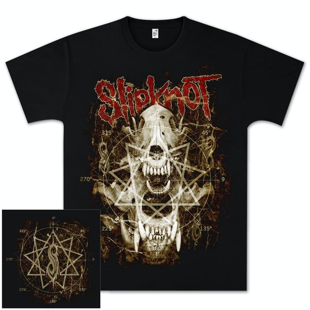 Slipknot Skull Teeth T-Shirt