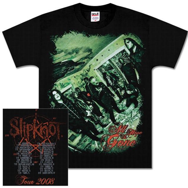 Slipknot Tilted Room Tour T-Shirt