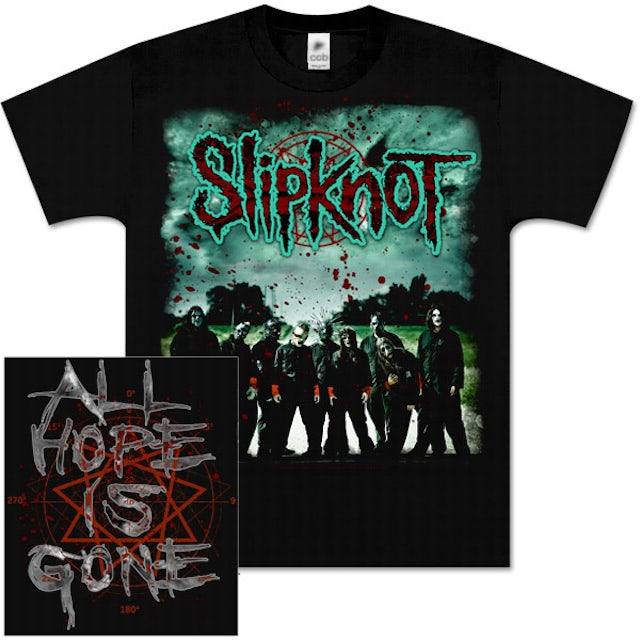 Slipknot All Hope is Gone Exclusive T-Shirt