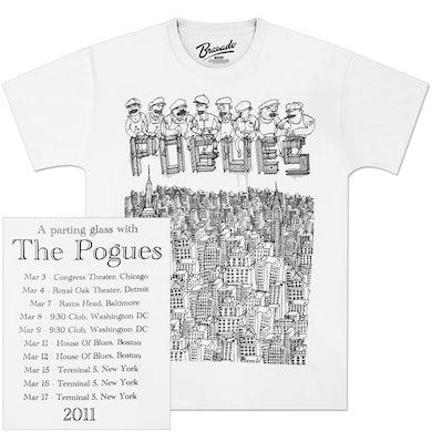 The Pogues NYC 2011 Tour T-Shirt