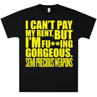 Semi Precious Weapons Gorgeous Censored T-Shirt