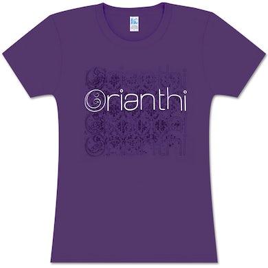 Orianthi Cloned Purple Girlie T-Shirt