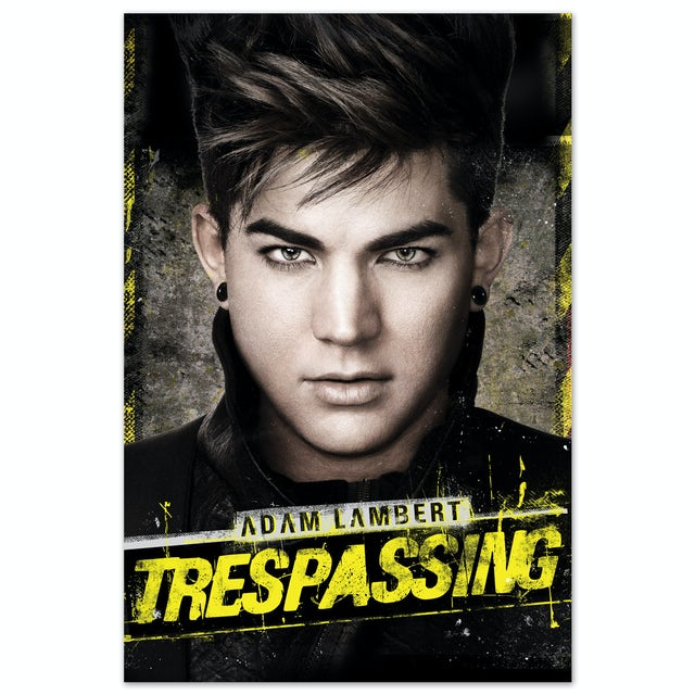 Adam Lambert Trespassing Poster