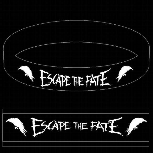 Escape The Fate Raven Rubber Bracelet