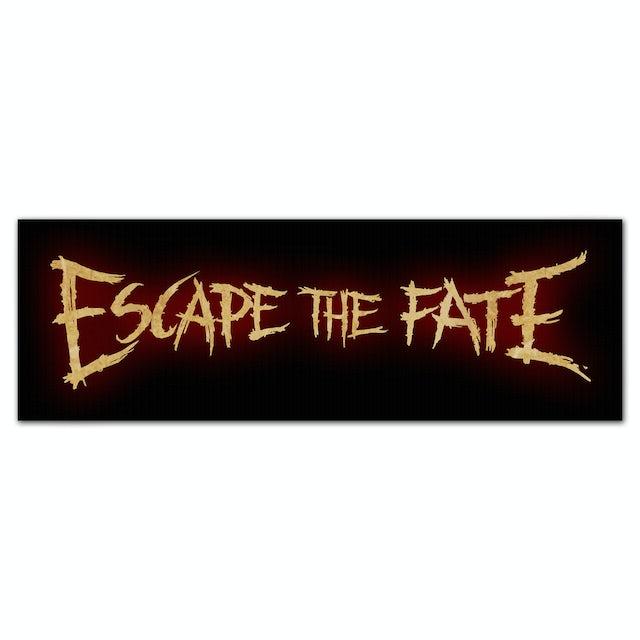 Escape The Fate Glow Logo Sticker