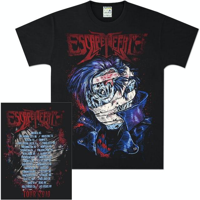 Escape The Fate Zombie Rocker Tour T-Shirt