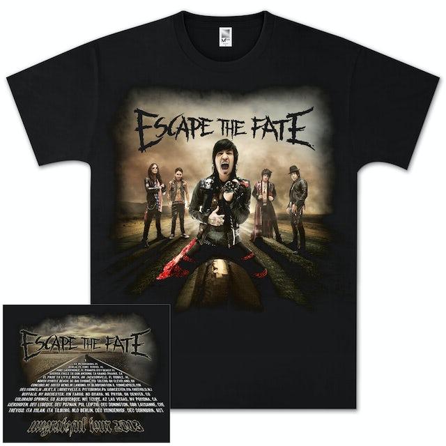 Escape The Fate Road Photo Tour T-Shirt