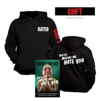 Corey Taylor You're Making Me Hate You Hoodie & Book Bundle