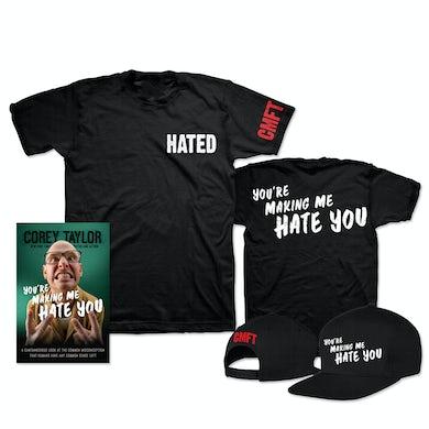 Corey Taylor You're Making Me Hate You T-Shirt & Hat Bundle